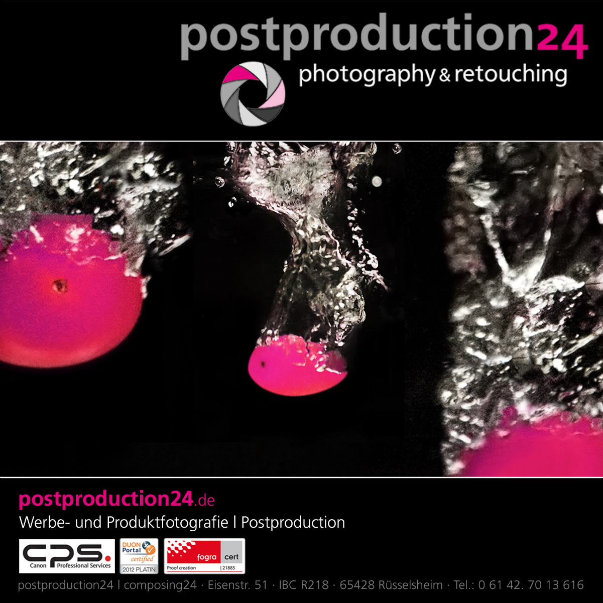 postproduction24 - fotografie, bildbearbeitung & retusche